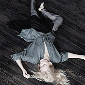 Одежда ручной работы. Ярмарка Мастеров - ручная работа Платье PRIMAVERA grey. Handmade.