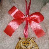Подарки к праздникам handmade. Livemaster - original item Owl of wood (gift). Handmade.