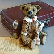 """Куклы и игрушки ручной работы. Ярмарка Мастеров - ручная работа Медведь Тедди """"Валюша"""", мишка из серии """"Арбатские дворики"""". Handmade."""