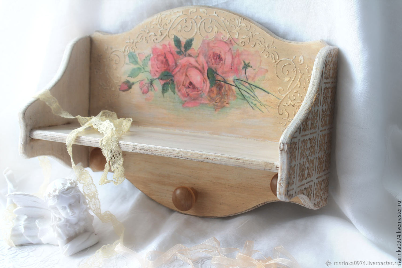 Shelf ' From antique market in Paris', Shelves, Krasnoyarsk,  Фото №1