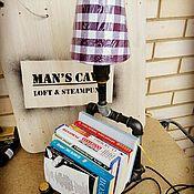 Для дома и интерьера ручной работы. Ярмарка Мастеров - ручная работа Подставка для книг в стиле лофт. Handmade.
