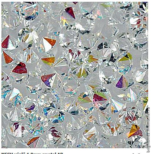 Для украшений ручной работы. Ярмарка Мастеров - ручная работа. Купить Ост. 0 шт. Насыпка для браслетов 2.7 мм кристаллы  Crystal AB. Handmade.