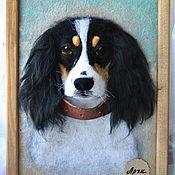 Картины и панно ручной работы. Ярмарка Мастеров - ручная работа Примеры работ по фото, шерстяной барельеф 3D. Handmade.