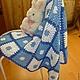 Текстиль, ковры ручной работы. Заказать Плед. *Юлия*. Ярмарка Мастеров. Плед для новорожденного, плед для малыша