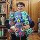 The Hippo Alex. Stuffed Toys. Irina-knitting. My Livemaster. Фото №5