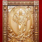"""Иконы ручной работы. Ярмарка Мастеров - ручная работа Икона """"Воскресение христово"""". Handmade."""