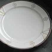handmade. Livemaster - original item Dish, porcelain, vintage, Czechoslovakia. Handmade.