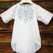 Collecti clothes handmade. Livemaster - original item Baptismal shirt for a boy Fig. 86. Handmade.