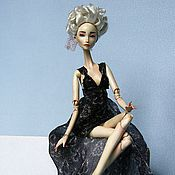 Куклы и игрушки ручной работы. Ярмарка Мастеров - ручная работа Шарнирная кукла Кларисса. Handmade.