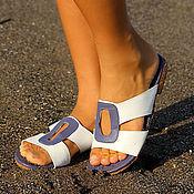 Обувь ручной работы handmade. Livemaster - original item Sandals made of genuine leather Ellingsen. Handmade.