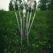 Дача и сад handmade. Livemaster - original item Set of skewers of soldiers. Handmade.
