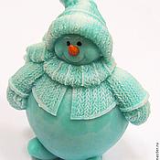 Косметика ручной работы handmade. Livemaster - original item Soap Snowman. Handmade.