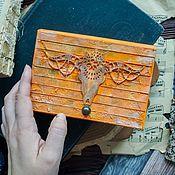 Блокноты ручной работы. Ярмарка Мастеров - ручная работа Бохо-блокнот с состаренными страницами.. Handmade.