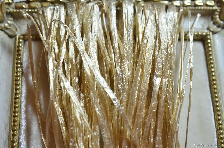 Рафия для вышивки 5 мм, Индия, Рафия, Москва, Фото №1