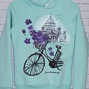 handmade. Livemaster - original item Sweatshirt sweatshirt