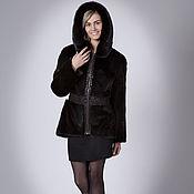 Одежда handmade. Livemaster - original item Jacket made of mink. A mink coat. Fur coat of mink.. Handmade.
