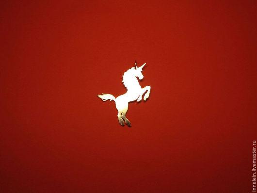 """Кулоны, подвески ручной работы. Ярмарка Мастеров - ручная работа. Купить Серебряная подвеска """"Единорог"""". Handmade. Серебряный, животное, лошадь"""