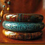 Украшения ручной работы. Ярмарка Мастеров - ручная работа Браслеты Путь в Индию. Handmade.