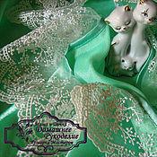 Одежда ручной работы. Ярмарка Мастеров - ручная работа пеньюар и сорочка Мятный Лед. Handmade.