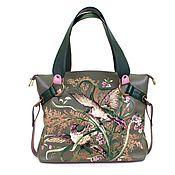 Сумки и аксессуары handmade. Livemaster - original item Medium leather bag