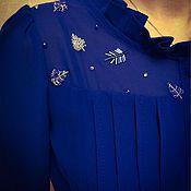 Одежда ручной работы. Ярмарка Мастеров - ручная работа Блузка нарядная. Расшита бисером.. Handmade.