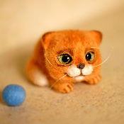 Куклы и игрушки ручной работы. Ярмарка Мастеров - ручная работа котенок Тигрик. Handmade.
