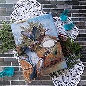 """Блокноты ручной работы. Ярмарка Мастеров - ручная работа Блокнот """"Утки"""". Handmade."""