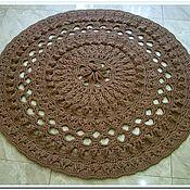 Для дома и интерьера handmade. Livemaster - original item handmade carpet knitted of polyester cord Shell. Handmade.