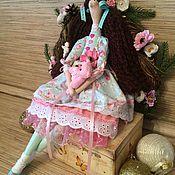Куклы и игрушки ручной работы. Ярмарка Мастеров - ручная работа Кукла тильда Танюша ангел фея. Handmade.