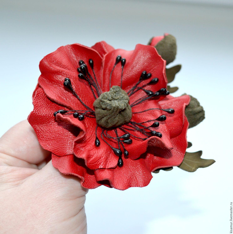 Red poppy brooch leather flower brooch red brooch pin handmade brooches handmade red poppy brooch leather flower brooch red brooch pin handmade mightylinksfo