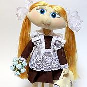 Куклы и игрушки ручной работы. Ярмарка Мастеров - ручная работа Даша отличница. Handmade.