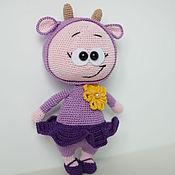 Куклы и игрушки handmade. Livemaster - original item Bonnie dressed as a Goat knitted. Handmade.