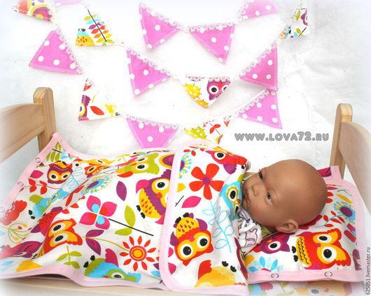 """Одежда для кукол ручной работы. Ярмарка Мастеров - ручная работа. Купить Комплект """"Уют Совуньи"""". Handmade. Разноцветный, одежда для кукол"""