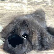 Куклы и игрушки handmade. Livemaster - original item Dog from sable natural fur. Handmade.