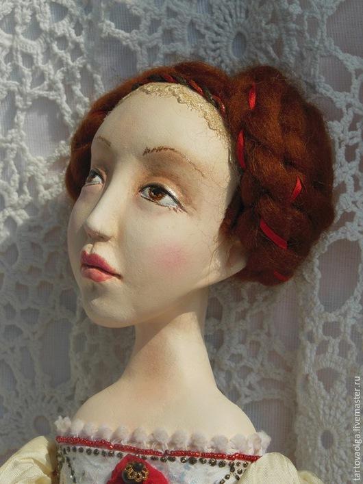 Коллекционные куклы ручной работы. Ярмарка Мастеров - ручная работа. Купить Музыкальная кукла подвижная кукла Селеста (будуарная кукла). Handmade.