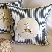 Для дома и интерьера handmade. Livemaster - original item Decorative pillow
