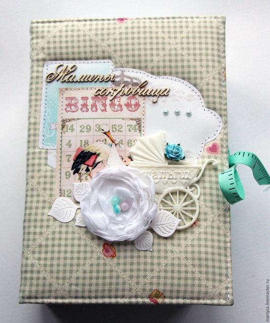 """Подарки для новорожденных, ручной работы. Ярмарка Мастеров - ручная работа. Купить """"Мамины сокровища"""" для мальчика. Handmade. Бирюзовый"""
