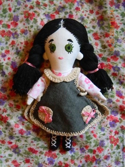 Человечки ручной работы. Ярмарка Мастеров - ручная работа. Купить Кукла Ляля. Handmade. Разноцветный, тряпичная игрушка