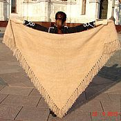 Аксессуары handmade. Livemaster - original item Downy shawl women`s
