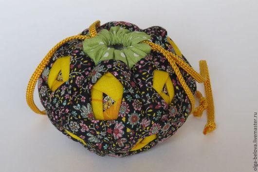 Женские сумки ручной работы. Ярмарка Мастеров - ручная работа. Купить Лоскутная сумочка для мелочей. Handmade. Разноцветный
