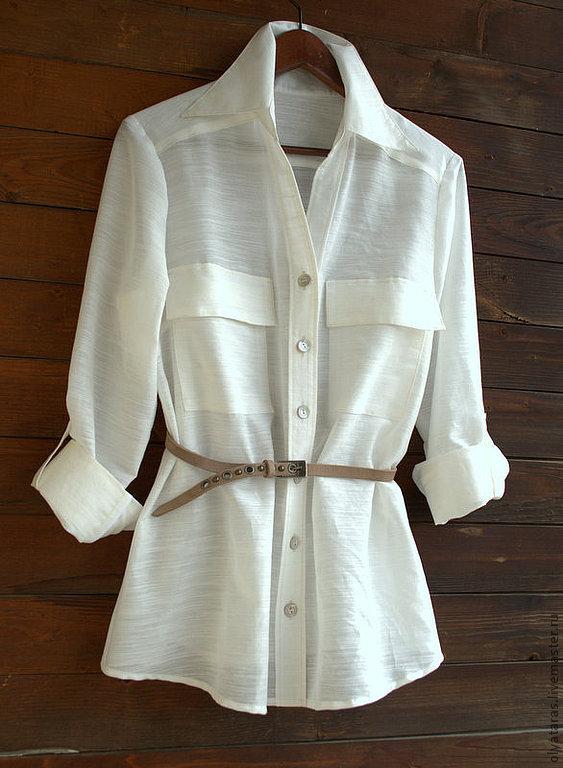 Блузка с карманами в спб