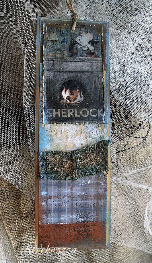 """Закладки для книг ручной работы. Ярмарка Мастеров - ручная работа. Купить Закладки из коллекции """"Шерлок и Лондон"""" (№ 8). Handmade."""