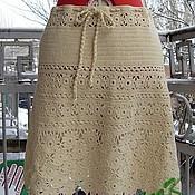 Одежда ручной работы. Ярмарка Мастеров - ручная работа Юбка комбинированная. Handmade.