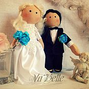 Куклы и игрушки ручной работы. Ярмарка Мастеров - ручная работа Свадебная пара. Handmade.