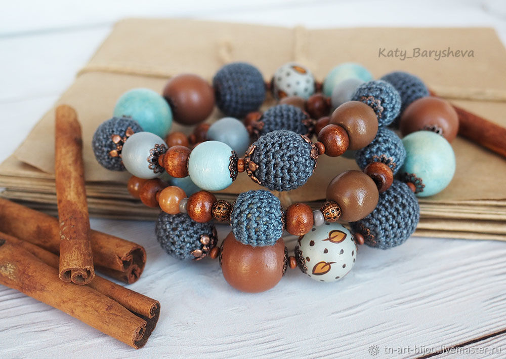 Long beads ' Drops', Necklace, Sochi,  Фото №1