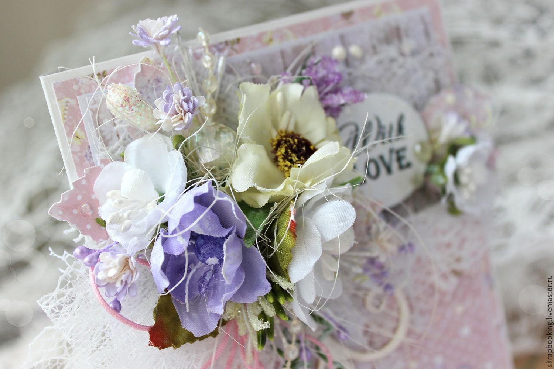 Стильные цветы открытка, октября день девочек