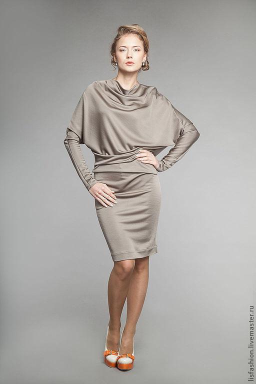 Платья ручной работы. Ярмарка Мастеров - ручная работа. Купить Платье Мелиса 3181106. Handmade. Платье, однотонный