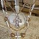 Украшения из жемчуга с крестом модная авторская бижутерия