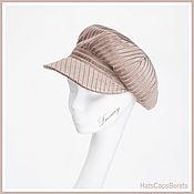 Аксессуары handmade. Livemaster - original item Cap. Cap. Women`s luxury caps. Luxury caps for women.. Handmade.