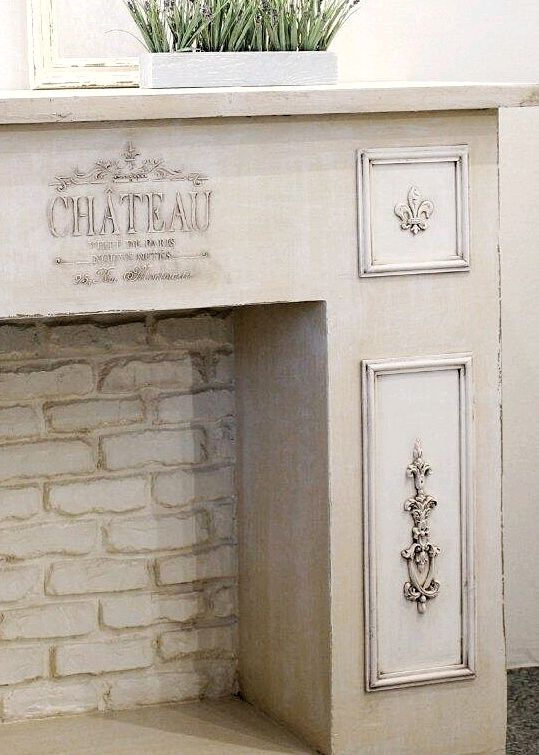Fireplace false in the style of Provence, Fireplaces, Barnaul,  Фото №1